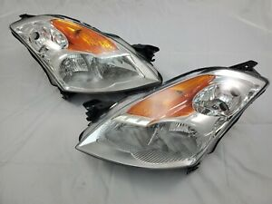 2007 2008 2009 Nissan Altima Complete Direct Replacement Headlight Set New