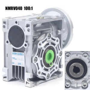 Nmrv040 Worm Gearbox Reducer Output 18mm speed Reducer For Stepper Motor Usa