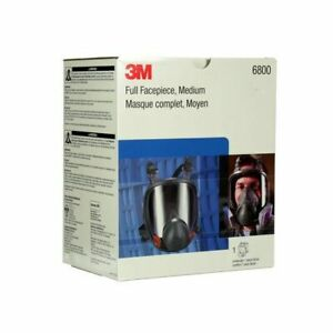 3m 6700 6800 6900 Full Face Respirator Small Medium Large