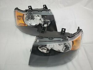 2003 2004 2005 2006 Ford Expedition Direct Replacement Headlight Set