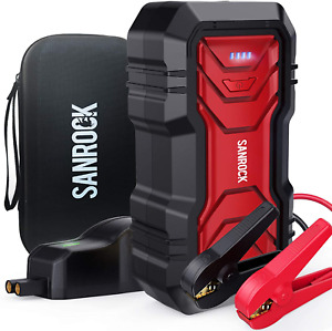 Heavy Duty Truck Battery Booster Pack Jump Starter Box Portable 2500 Amps Cars
