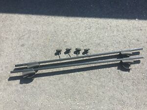 2001 2007 V70 Xc70 Thule Roof Rack Cross Bar Assembly