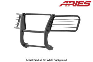 Grille Brush Guard Aries Black Semi Gloss For 04 12 Chevy Gmc Colorado Canyon