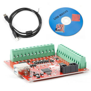New Usb Interface Board Cnc Mach3 Motion Controller Card Board For Stepper Motor