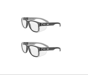 Magid Classic Black Safety Glasses Iconic Design Series Y50bkafc Shields