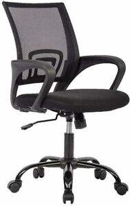 Office Chair Ergonomic Desk Chair Mesh Computer Chair Lumbarsupport Oc h03 black