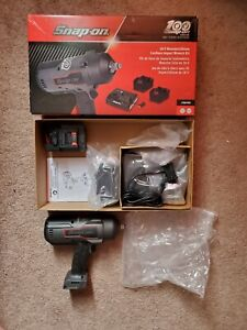 Snap On 100th Anniversary 18v Monster Lithium Impact 1 2 Ct9075 Limited Edition
