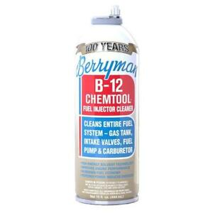 Berryman B 12 Chemtool Carburetor fuel Treatment injector Cleaner 12 pack