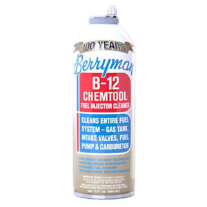 Berryman B 12 Chemtool Fuel Injector Cleaner Fuel System Cleaner 15 Oz 12 Pack