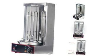 Zz Pro Electric Vertical Broiler Shawarma Doner Kebab Gyro Grill Machine With Te