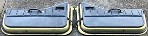 Jeep Wrangler Oem Half Door Set 1987 95 Yellow Grey Interior Fits 1991