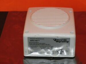 Edwards Mini mi Fire Alarm Audible Signal 5560m aq