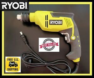 Ryobi D620h 6 2 Amp Corded 5 8 In Variable Speed Reversible Hammer Drill