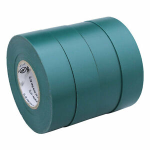 4 Rolls Green Electrical Insulating Tape Vinyl 3 4 Inch 20 Yards Ul Listed