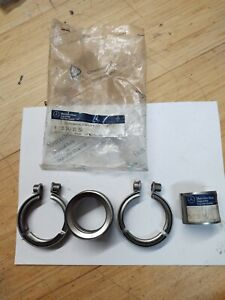 81 84 Mercedes Garret T3 Turbo Line Exhaust Fittings W123 W126 W116 Genuine Nos