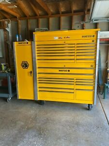 Matco 5s Double Bay Tool Box With Locker And More Excellent Condition