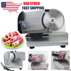 Commercial Restaurant Electric Food Meat Slicer Deli Cheese Cutter 7 5 Blade