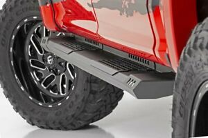 Rough Country Hd2 Running Boards Fits 2009 2018 Dodge Ram Crew Cab Side Steps