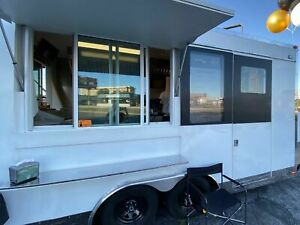 Lightly Used 2019 16 Fully loaded Mobile Kitchen Food Concession Trailer For