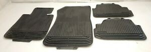 Genuine Bmw 1 Series All Weather Rubber Floor Mats Set Oe 51472239697