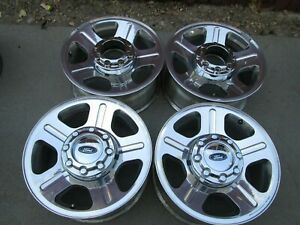 18 Ford F250 F350 Super Duty Factory Polished Wheels Rims