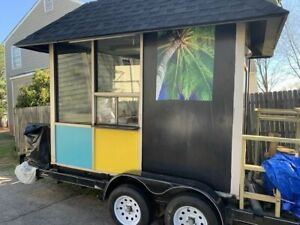 Ready To Cook 6 X 10 Used Mobile Kitchen Food Concession Trailer For Sale In V