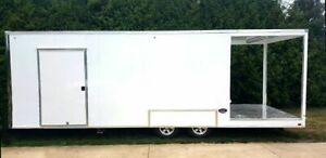 Amazing 2016 30 Catering And Kitchen Food Trailer With Porch For Sale In Indian