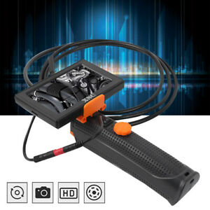 4 3in Handheld Endoscope 80cm Hose Borescope Color Display With Front Fill Light