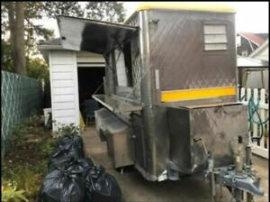 Very Neat 2017 Compact Mobile Food Vending Concession Trailer For Sale In New Yo