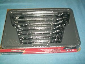 New Snap On E6 To E16 Torx Non Reversible Ratcheting Wrench Set Xdre707 Sealed