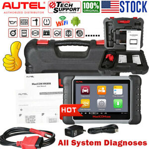 2020new Autel Mk808 Pro Obd2 Diagnostic Scan Tool Tpms Immo Key Fob Programming