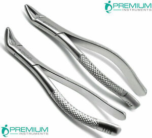 New Dental Extracting Forceps 150s 151s Surgical Tooth Extraction Tool Set 2