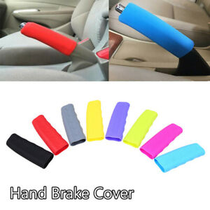Universal Car Silicone Hand Brake Sleeve Handbrake Handle Hand Protector Cover