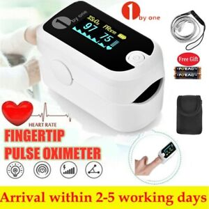 Fingertip Pulse Oximeter Blood Oxygen Record Meter Heart Rate Monitor Recharge S