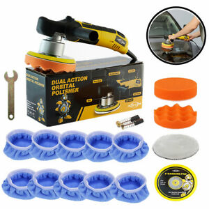 6 Dual Action Random Orbital Car Polisher Da Buffer Sander Polishing Machine Us