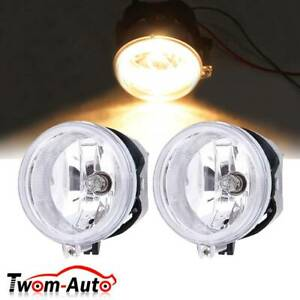 Pair Driving Fog Lights For 2010 2011 Chrysler Town Country Jeep Patriot 2010