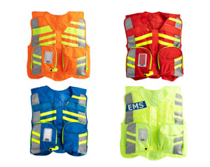 Stat Packs Advanced Safety Vest With Ems Plate