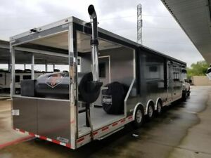 2018 8 5 X 42 Competition Bbq Rig Trailer W Porch Living Quarters Rig Fo
