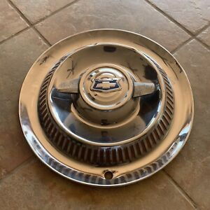 1953 1954 1955 Chevrolet Corvette Spinner Hub Cap Wheel Cover Original