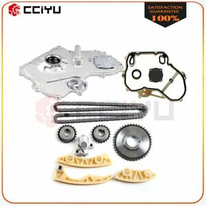 Timing Chain Oil Pump Kit For 04 07 Saturn Ion 2 0l 122cid L4 Dohc Supercharged