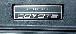 2015 2016 2017 2018 Ford Mustang Powered By A Coyote 5 0l Gt Dash Emblem Plaque