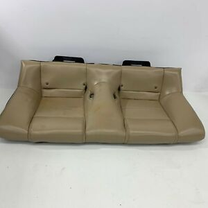 2005 2009 Oem Ford Mustang Tan Rear Leather Back Seat Bottom S7171