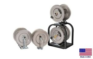 Pressure Washer Sprayer Stackable Hose Reels 1 High 1 Low Pressure Reel