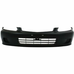 New 1999 2000 Fits Honda Civic Bumper Cover Primed Front Ho1000184 04711s01a01zz