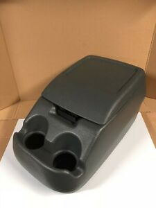 Ford Genuine Oem 1992 1997 F series Truck Bronco Center Console Light Gray