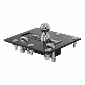 Curt 61052 Over Bed Folding Ball Gooseneck Hitch 30000 Lbs 2 5 16 In Ball New