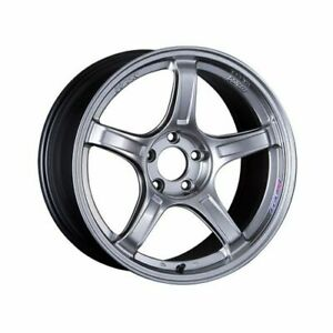 Ssr Xc19950 3805gs0 Gtx03 Wheel 19x9 5 5x114 3 38mm Platinum Silver New