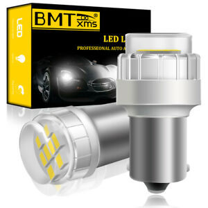 1156 Led Reverse Light Canbus P21w Error Free Ba15s Backup Bulb 6000k White 7506