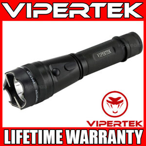 Vipertek Stun Gun Vts 195 500bv Metal Heavy Duty Rechargeable Led Flashlight