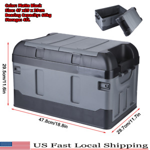 45l Cargo Organizer Foldable Multi Purpose Storage Box Bag Case Car Trunk Us